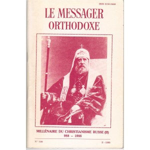 LE MESSAGER ORTHODOXE N° 108
