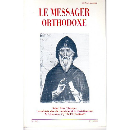 LE MESSAGER ORTHODOXE N° 135