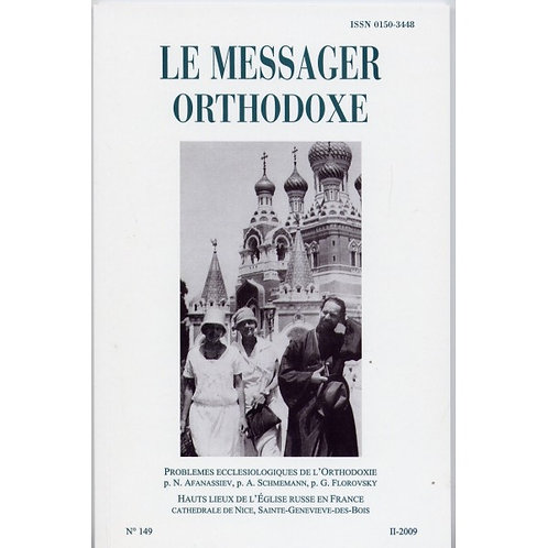 LE MESSAGER ORTHODOXE N° 149