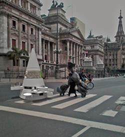 Foto intervenida Congreso Bs. As. Argentina -2015