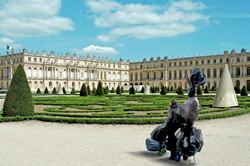 Foto intervenida Versalles -Jardines -Francia -2015