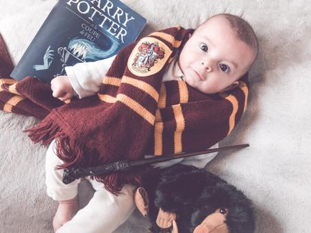 12 Photos de bébé adorables - Thème Harry Potter ⚡