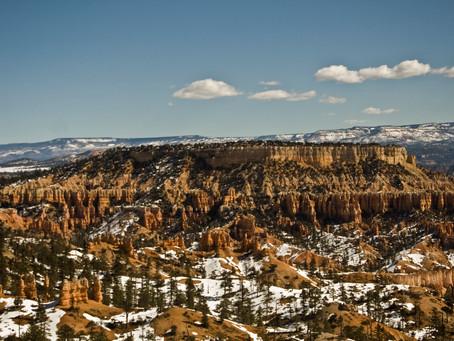Bryceův kaňon–nekaňon
