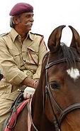 Kr.Raghuvendra Singh Dundlod, Royal Equestrian & Polo Centre  - Rajasthan India