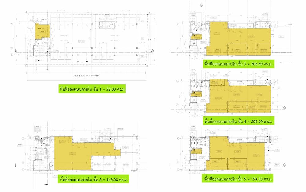 ค่าออกแบบและการแบ่งงวดค่าแบบ Interior 03