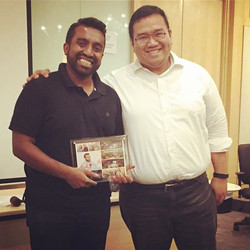 Farewell to one of our most beloved toastmasters and ex president Shehan!! You will be dearly missed