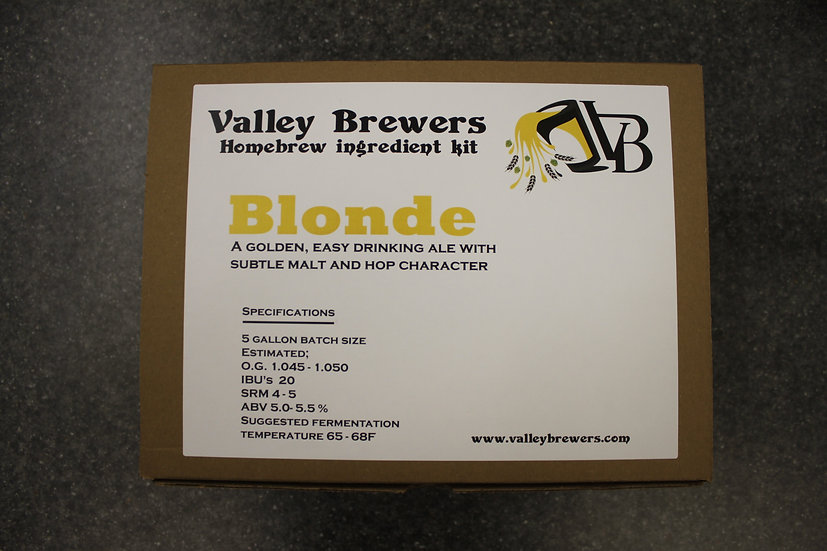 Blonde Ale Kit