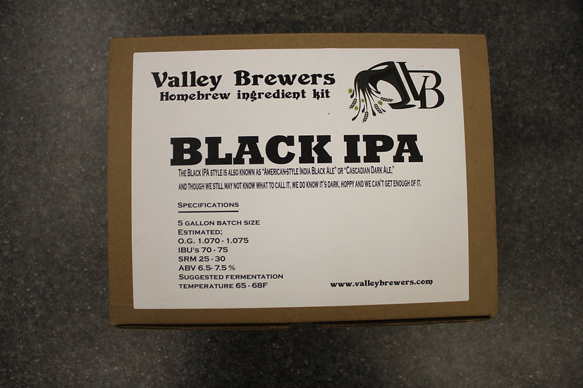 Black IPA kit