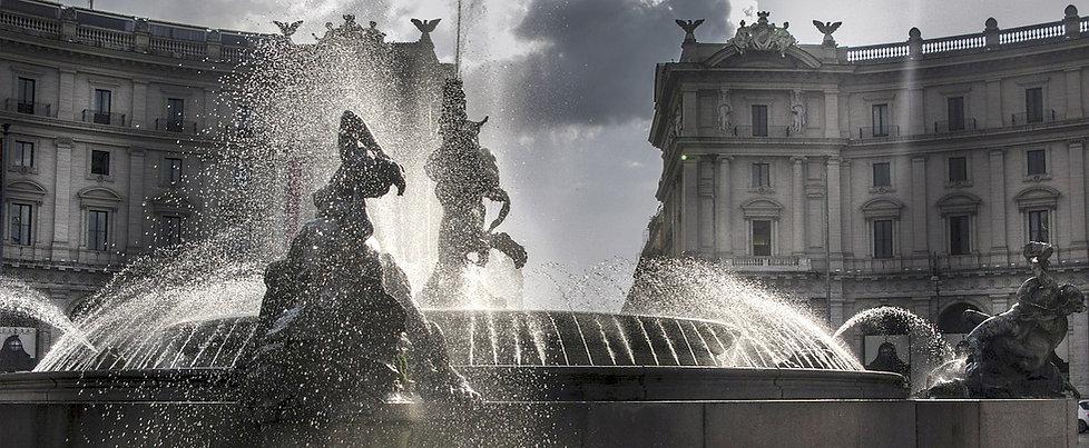 Piazza della Repubblica, rome