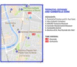 Testaccio map