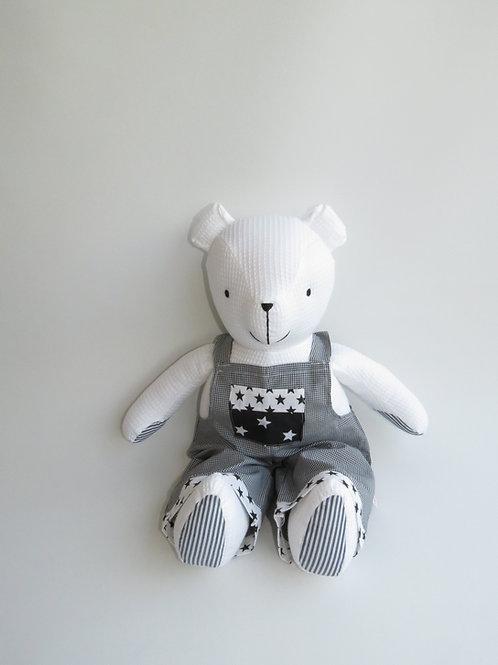 דובי דוב גדול לבן ושחור