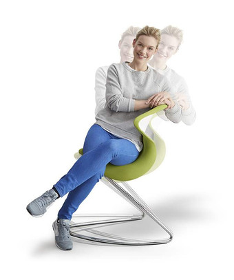 The oyo® is the world's first combination of a saddle seat, shell chair & rocking chair.