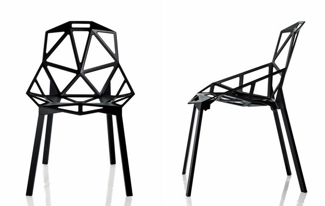 Chair_One has intriguing looks and comfort—a welcome alternative to chairs that look comfortable but aren't.