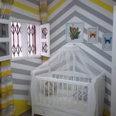 Chambre bébé Après.