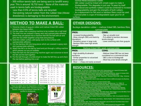 Biodegradable Tennis Balls