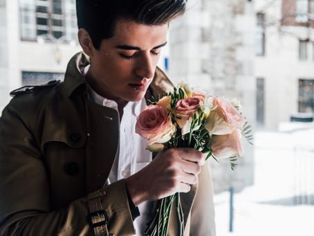 Цветы в подарок мужчине