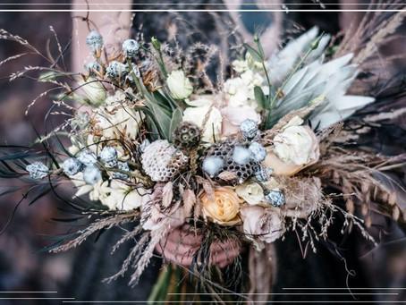 Букеты и композиции из сухоцветов