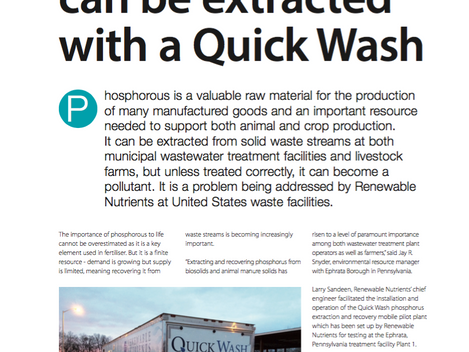 Filtration & Seperation Magazine Article