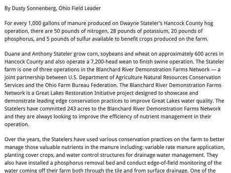 Quick Wash Ohio Farm Pilot a Success