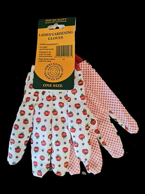 GLOVES LADIES DOTTED
