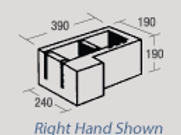 25 SERIES 2515 RIGHT HAND CNR