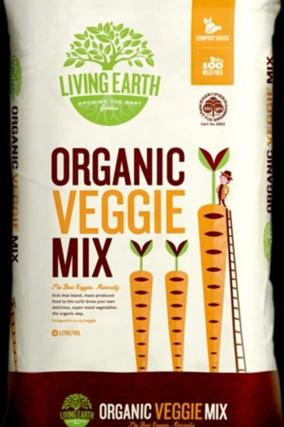 Living Earth Organic Vege Mix