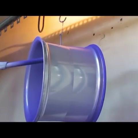 high finish automatic powder coating