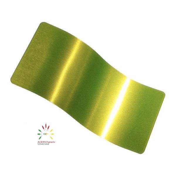 trans clear green