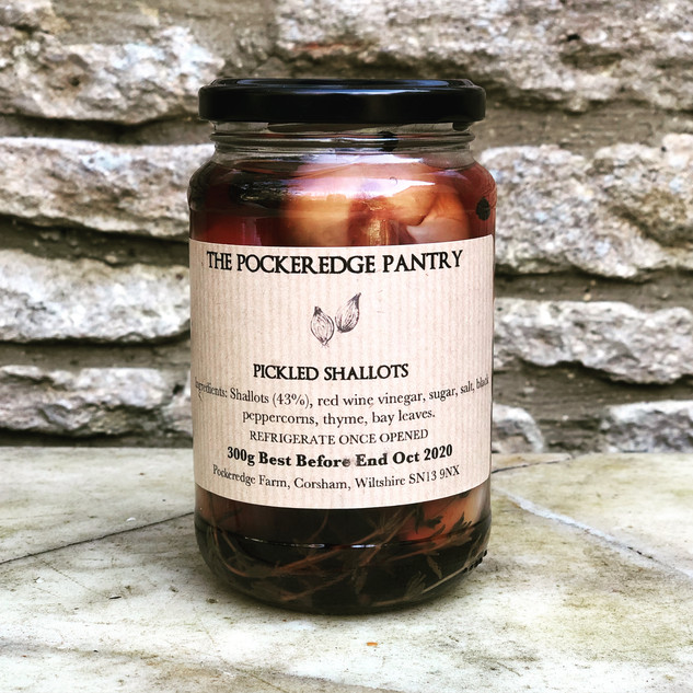 pickled shallots