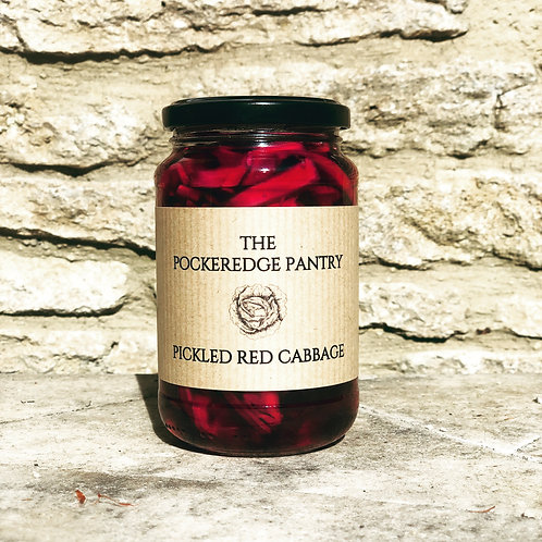 LARGE JAR PICKLED RED CABBAGE