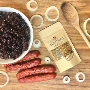 Receita de feijão-preto | Sabor Português