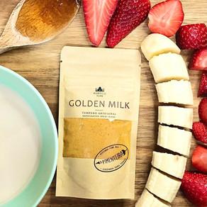 Receita de batido com Golden Milk