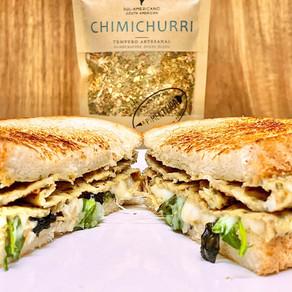 Sandes de omelete com Chimichurri | Prática e Deliciosa