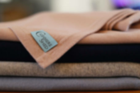The colours of the cashmere shed