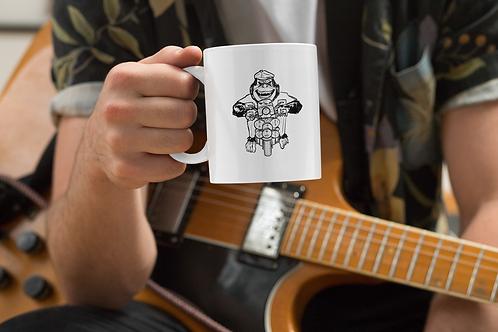 Clifton on the change mug