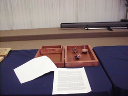 Teetotum game and box