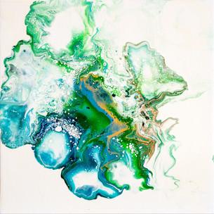 Explosion blue-green 30