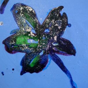 Flor azul 3