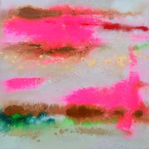 Moving water pink 25