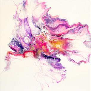 Explosion lila 30