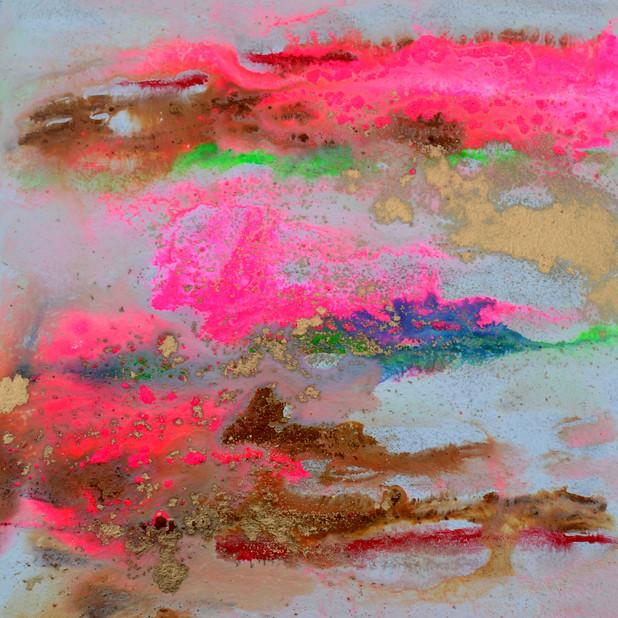 Moving water pink 19
