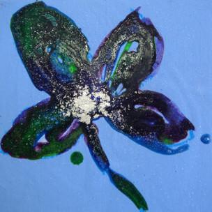 Flor azul 2