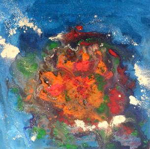 Moving water orange 36