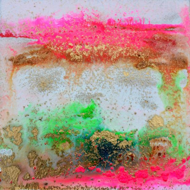 Moving water pink 13