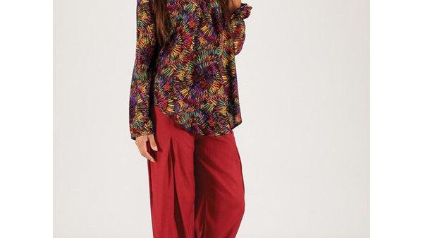 TUNIQUE chemise MANCHES LONGUES
