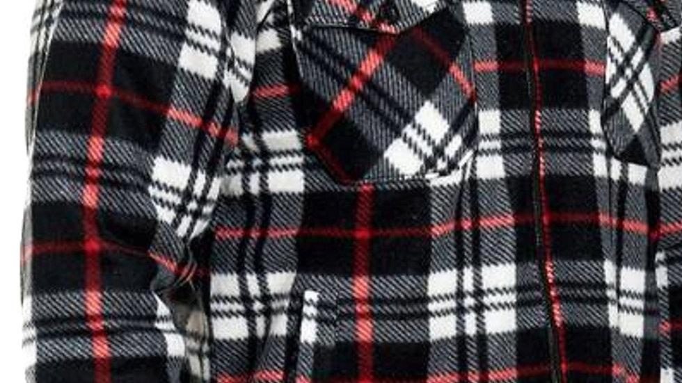 veste sur chemise tres epais polaire