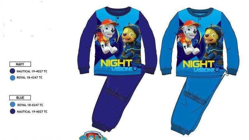 pyjama long pat patrouille