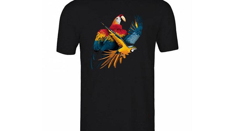 Black series - Tshirt noir garçon  - Perroquet  ou eagle