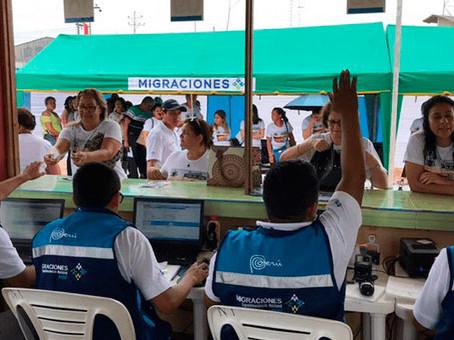 New Immigration Control Post on the border with Bolivia: SHIRINGAYOC