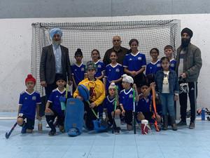 Under 12 CoEd take Silver @ OKD 1st Junior Indoor Tournament